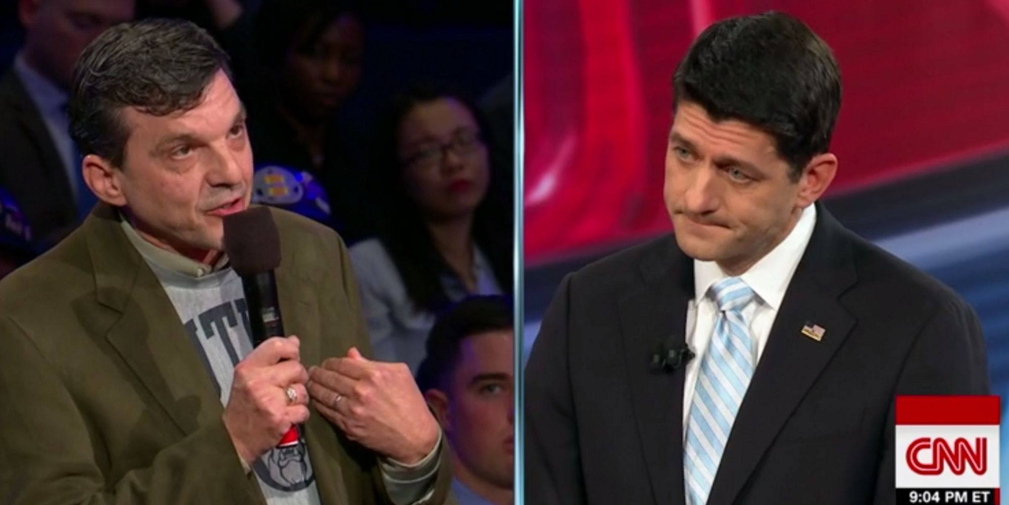 Cancer Survivor Tells Paul Ryan: 'I'd Be Dead' Without Obamacare