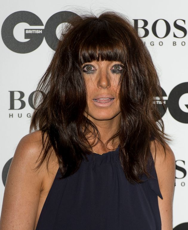 Claudia's attended the GQ Awards 2013 after a make-up
