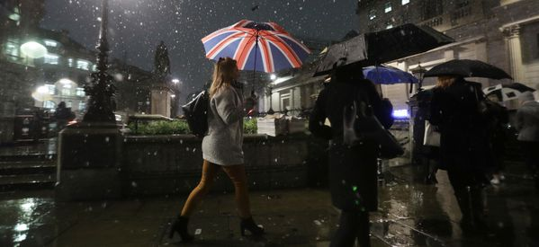 Something Tells Us Londoners Aren't Taking The Threat Of 'Snowmageddon' Seriously