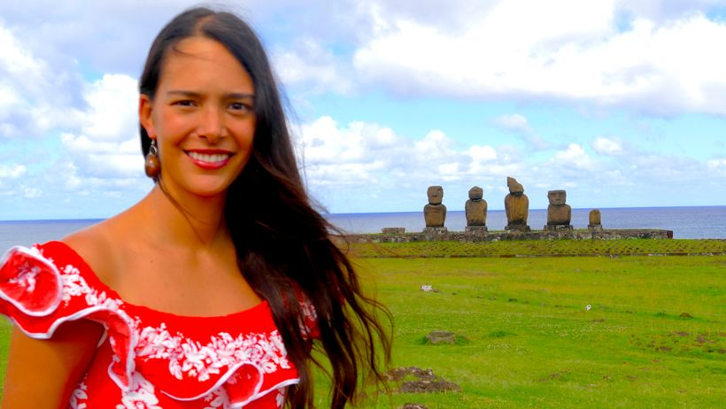 Mahani Teave, 30, Concert pianist and Creator of the Toki Rapa Nui, School for Music and Arts