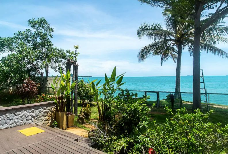 The view from our Koh Samui Home