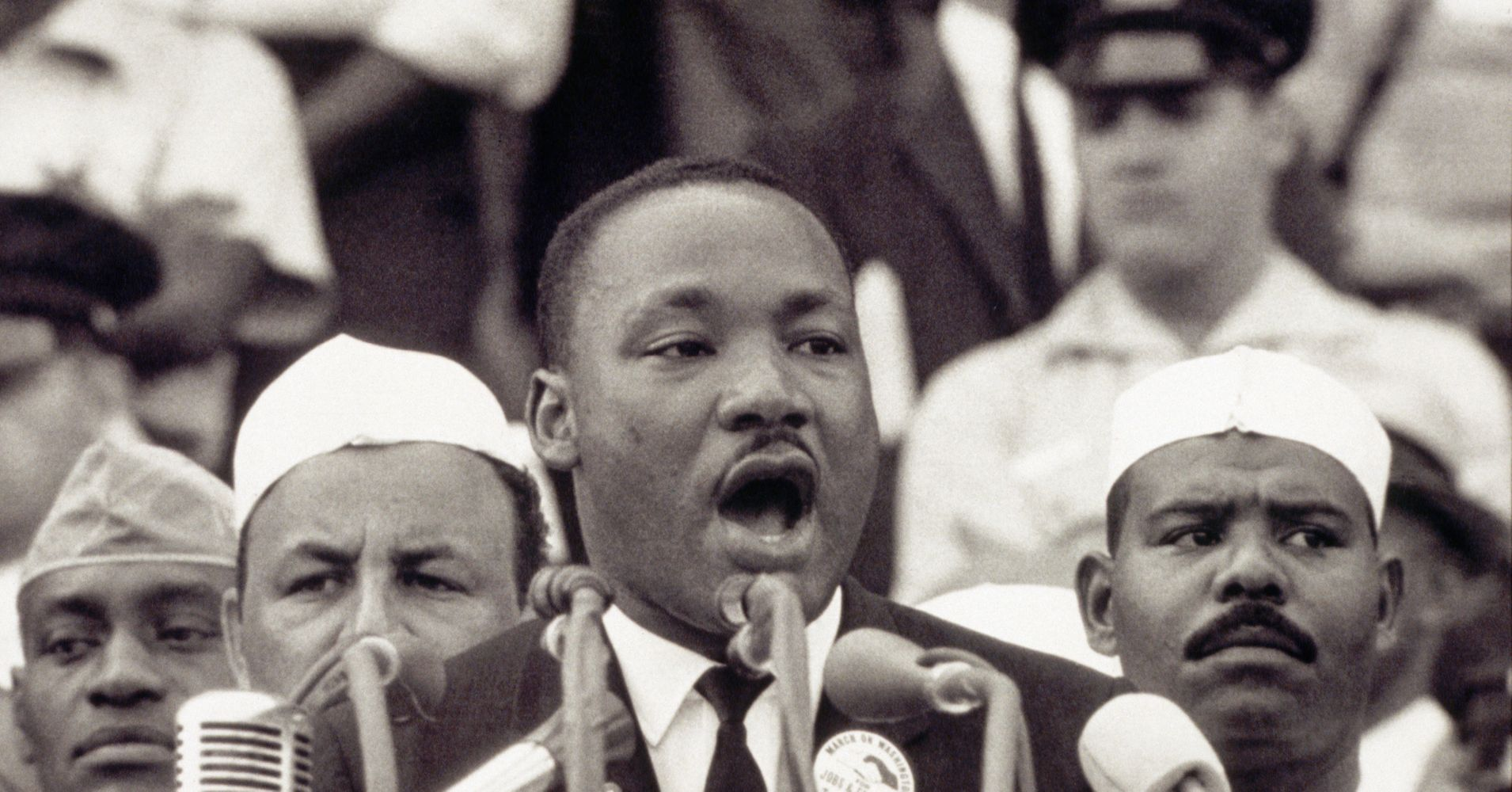 how far did martin luther king