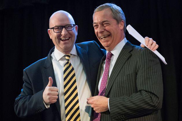 UKIP's Paul Nuttall and Nigel