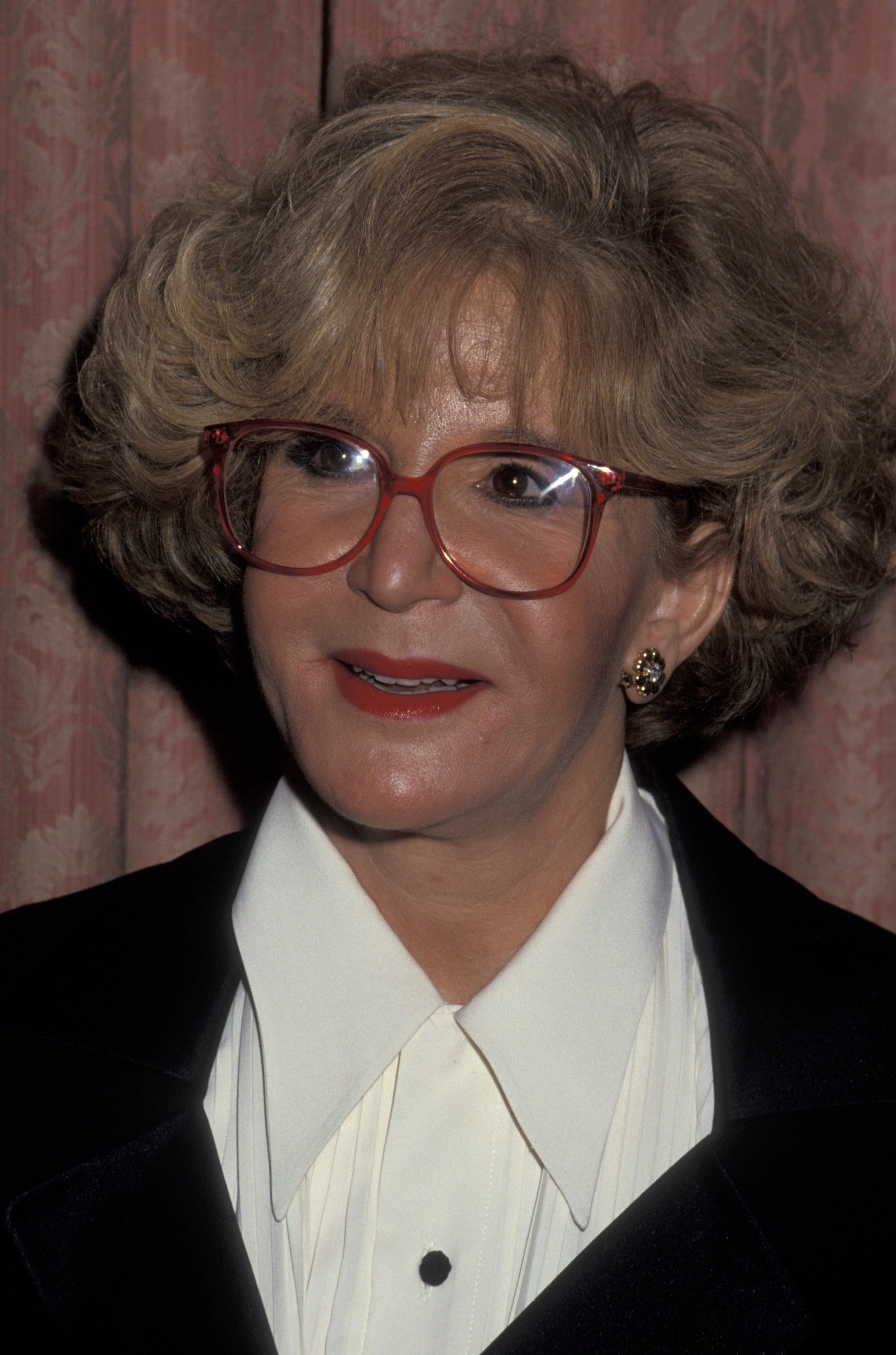 TV Personality Sally Jessy Raphael attending 'Por Los Ninos Gala Honoring Placido Domingo' on March 8, 1993 at the Waldorf Astoria Hotel in New York City, New York. (Photo by Ron Galella, Ltd./WireImage)