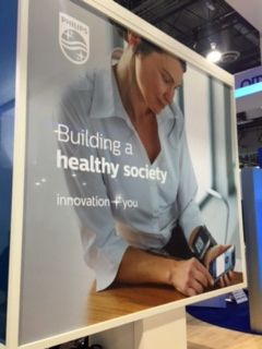 <em>Philips&#39; Booth at CES 2017</em>