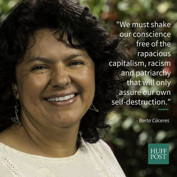 """We must shake our conscience free of the rapacious capitalism, racism and patriarchy that will only assure our own sel"