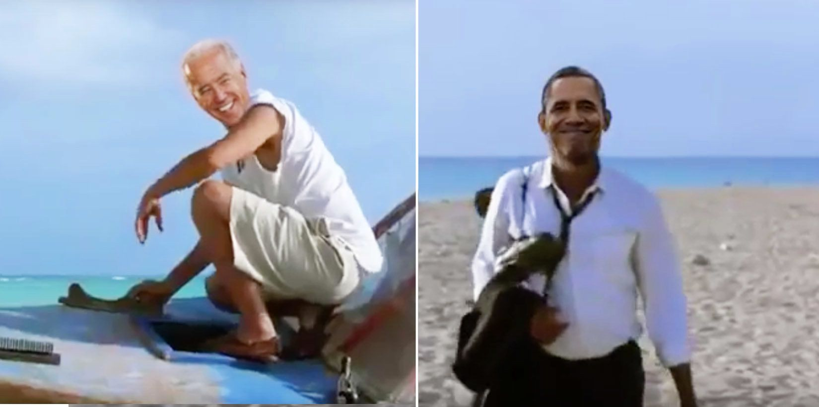 Oh God, The Ending Of 'Shawshank Redemption,' But With Obama And