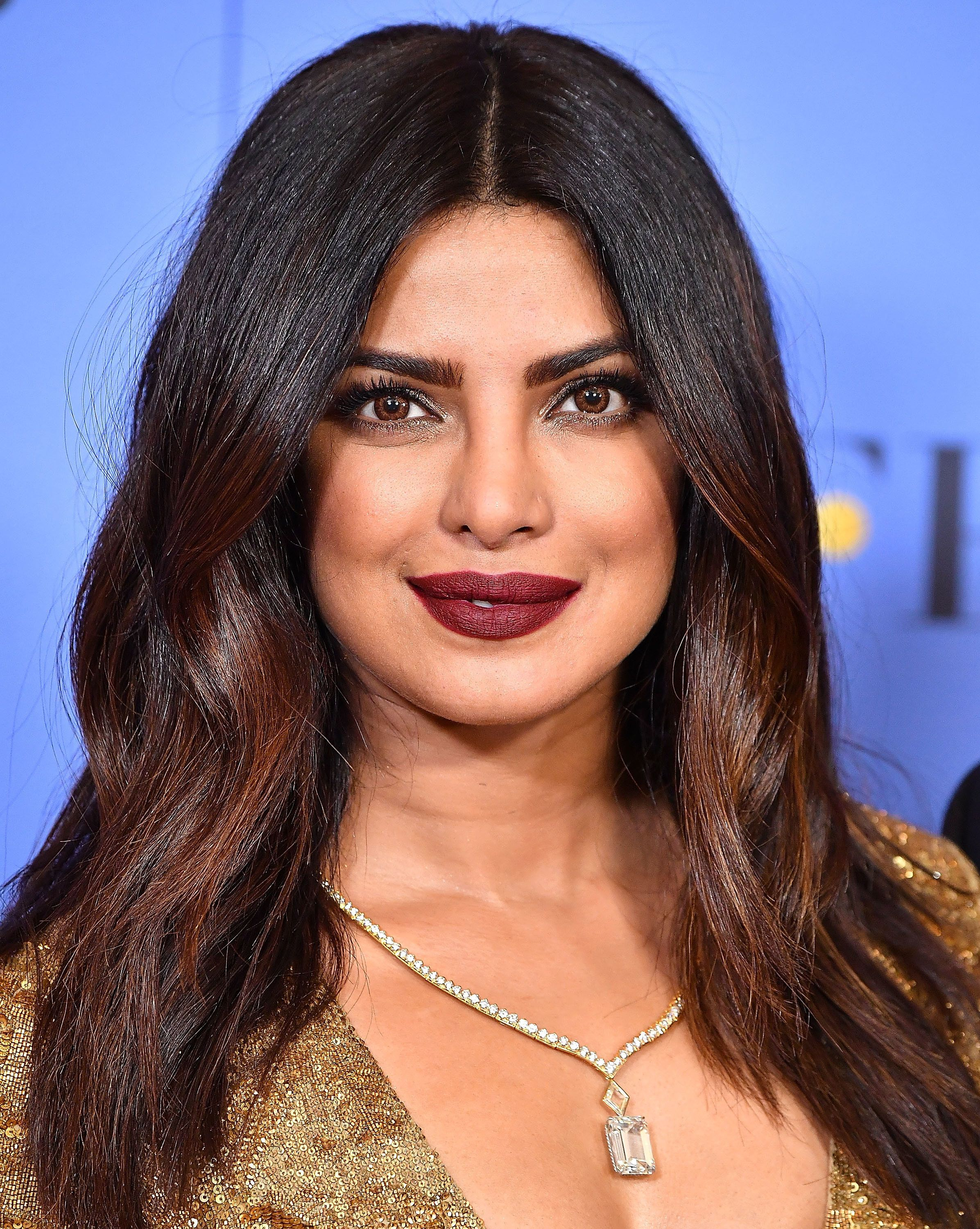 BEVERLY HILLS, CA - JANUARY 08:  poses Priyanka Chopra at the 74th Annual Golden Globe Awards at The Beverly Hilton Hotel on January 8, 2017 in Beverly Hills, California.  (Photo by Steve Granitz/WireImage)