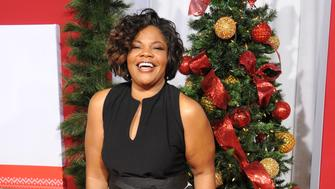 Mo'Nique arrives at Universal's Almost Christmas premiere held at the Regency Village Theatre in Westwood, Los Angeles, CA, USA, on Thursday, November 3, 2016.