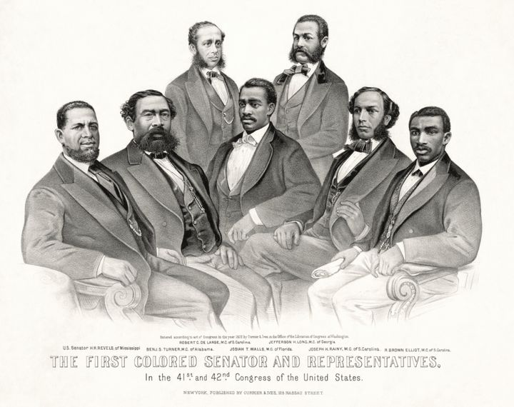 The first congressional black caucus