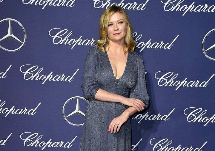 Kirsten Dunst wore a ring on *THAT* finger while at Palm Springs International Film Festival Film.
