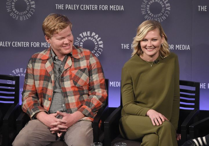 The now-couple at PaleyFest back in 2015.