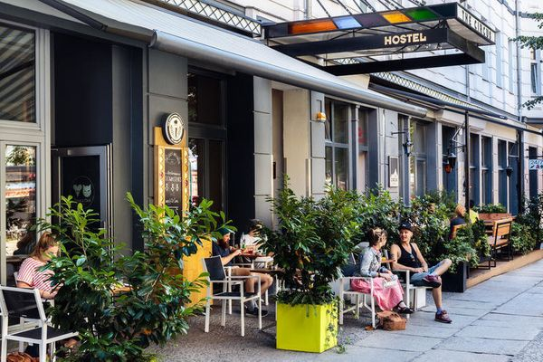"""Only in Germany would your hostel have its own <a href=""""http://www.hostelworld.com/hosteldetails.php/Circus-Hostel/Berlin/703"""