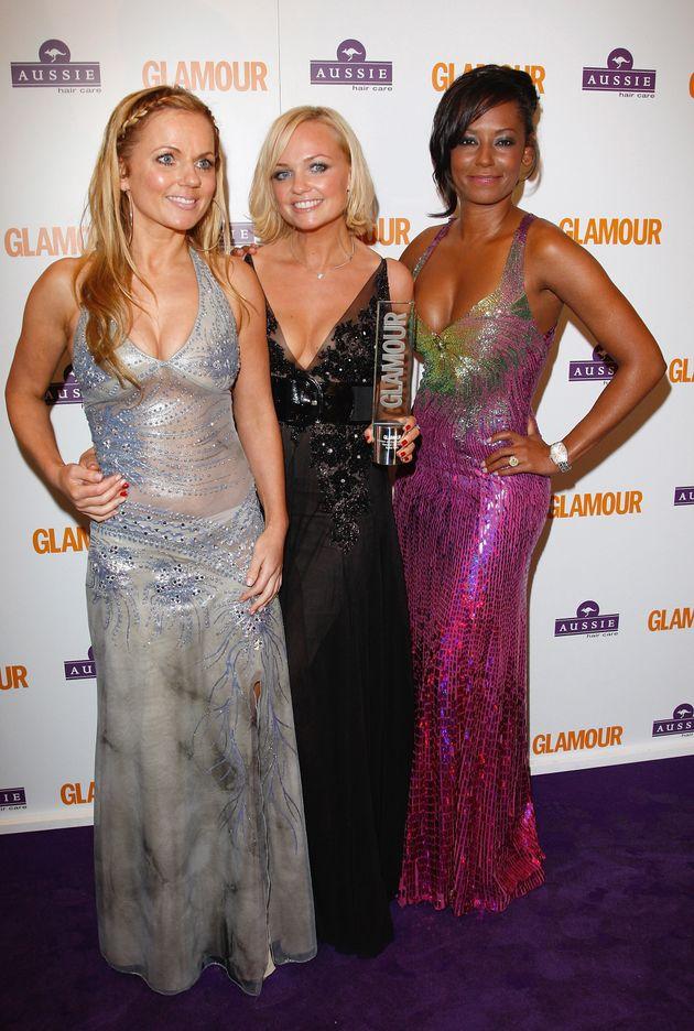 The three remaining Spice Girls