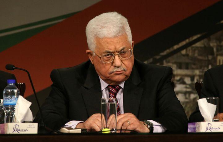 Palestinian President Mahmoud Abbas attends Fatah congress in the West Bank city of Ramallah November 29, 2016.