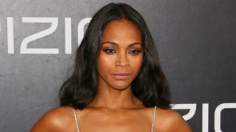 SAN DIEGO, CA - JULY 20: Zoe Saldana attends the premiere of Paramount Pictures' 'Star Trek Beyond' at Embarcadero Marina Park South on July 20, 2016 in San Diego, California. (Photo by JB Lacroix/WireImage)