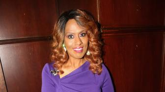 NEW YORK, NY - OCTOBER 08:  Jennifer Holliday poses at a photo call for 'The Color Purple' at Gallagher's Steak House on October 8, 2016 in New York City.  (Photo by Bruce Glikas/FilmMagic)