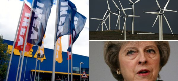Ikea Issues Half A Billion Pound Blow To UK Government Over Renewables
