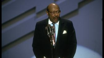 Rep. Louis Stokes (Dem-OH) addressing Dem. Natl. Convention.  (Photo by Bill Pierce/The LIFE Images Collection/Getty Images)