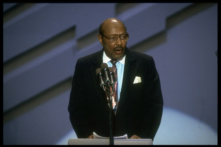 A file photo of former Rep. Louis Stokes, whowas central toseveralhigh-profile congressional investigations