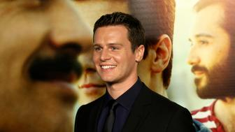 """Cast member Jonathan Groff poses at the premiere of the new HBO Comedy Series """"Looking"""" at Paramount Studios in Hollywood, California January 15, 2014. The television show debuts on January 19. REUTERS/Jonathan Alcorn (UNITED STATES - Tags: ENTERTAINMENT)"""