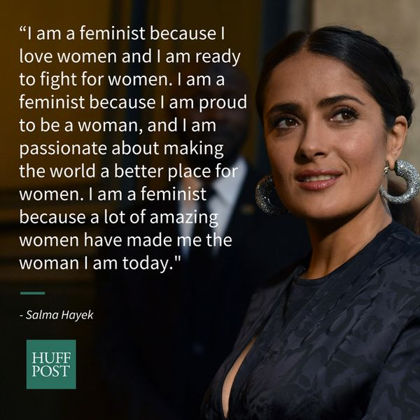 """I am a feminist because I love women and I am ready to fight for women. I am a feminist because I am proud to be a wom"