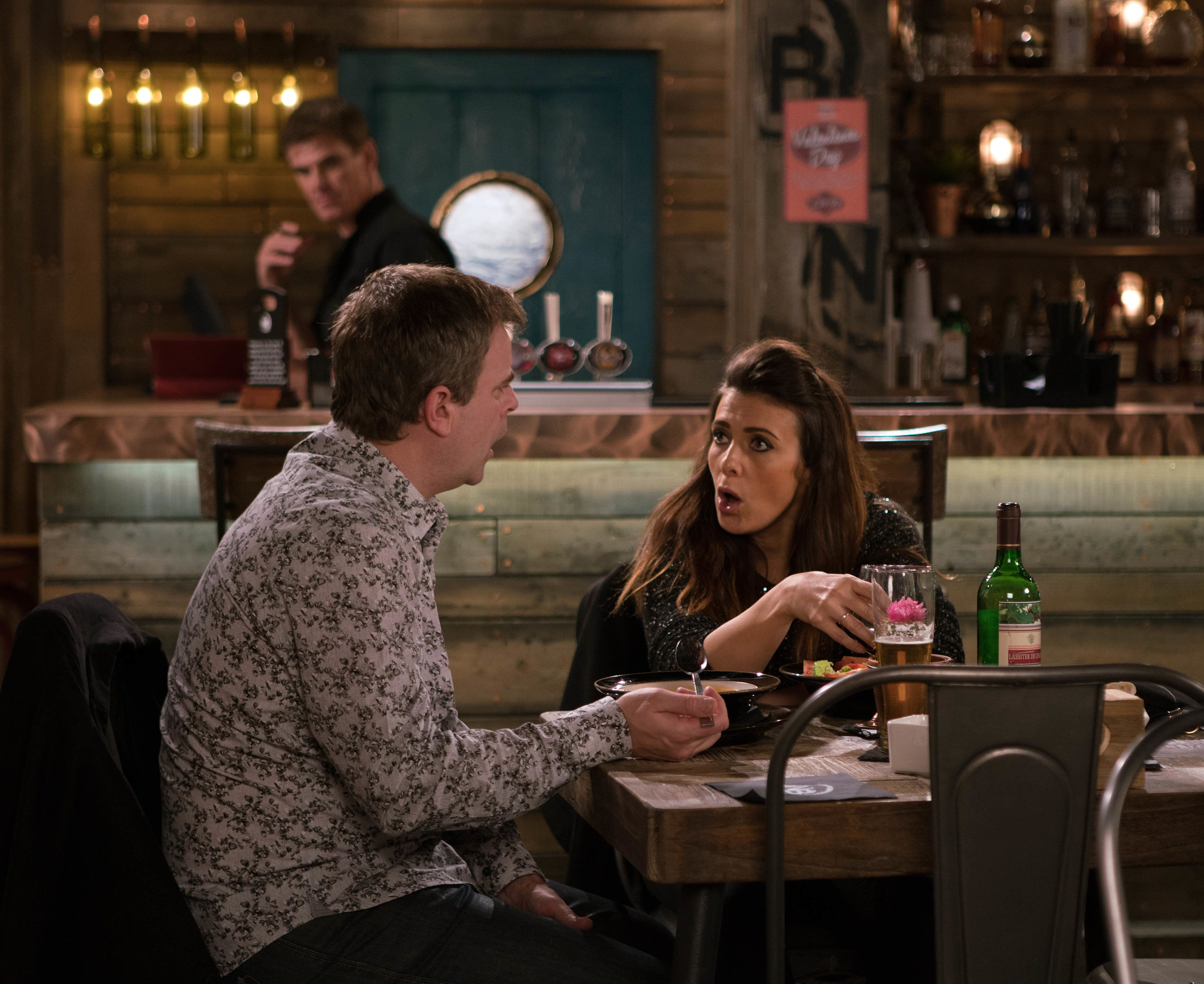 'Corrie' Spoiler Pictures Show Michelle And Steve Struggling To Support Each Other After