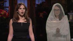 Tina Fey Crashes Felicity Jones' 'SNL' Monologue To Offer Hosting