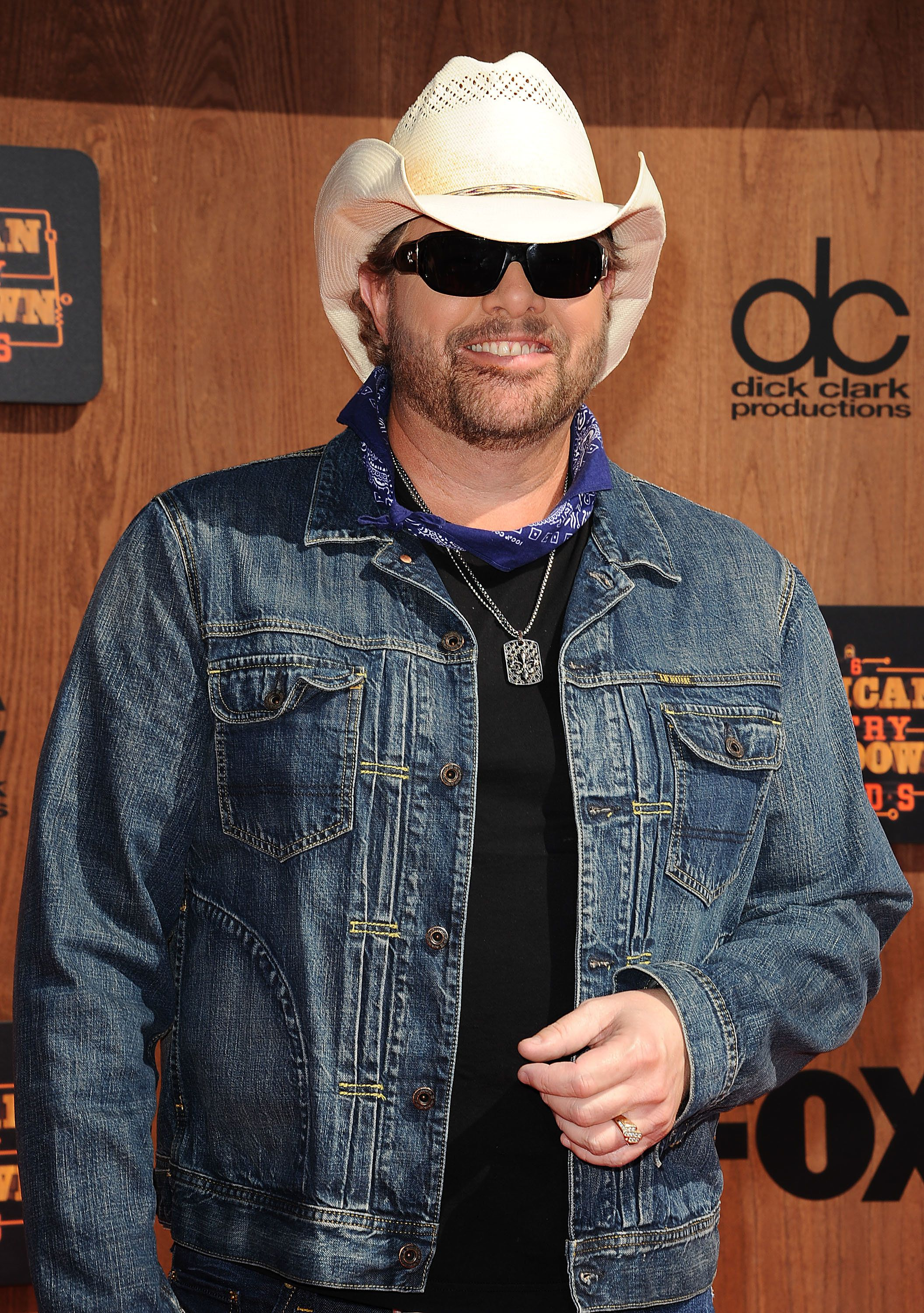 INGLEWOOD, CA - MAY 01:  Singer Toby Keith attends the 2016 American Country Countdown Awards at The Forum on May 01, 2016 in Inglewood, California.  (Photo by Jason LaVeris/FilmMagic)