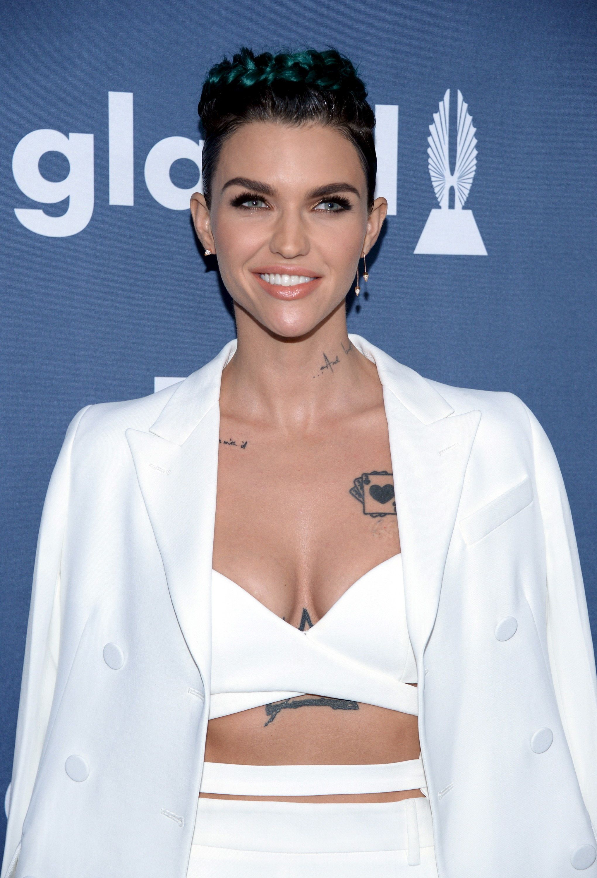 Ruby Rose attends the 27th annual GLAAD Media Awards in Beverly Hills, California April 2, 2016. REUTERS/Phil McCarten