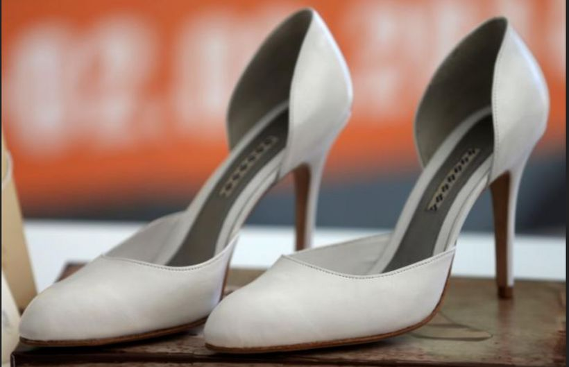 Specially crafted stilettos by Bosnia's Serb shoemaker Bema are a gift to Melania Trump.