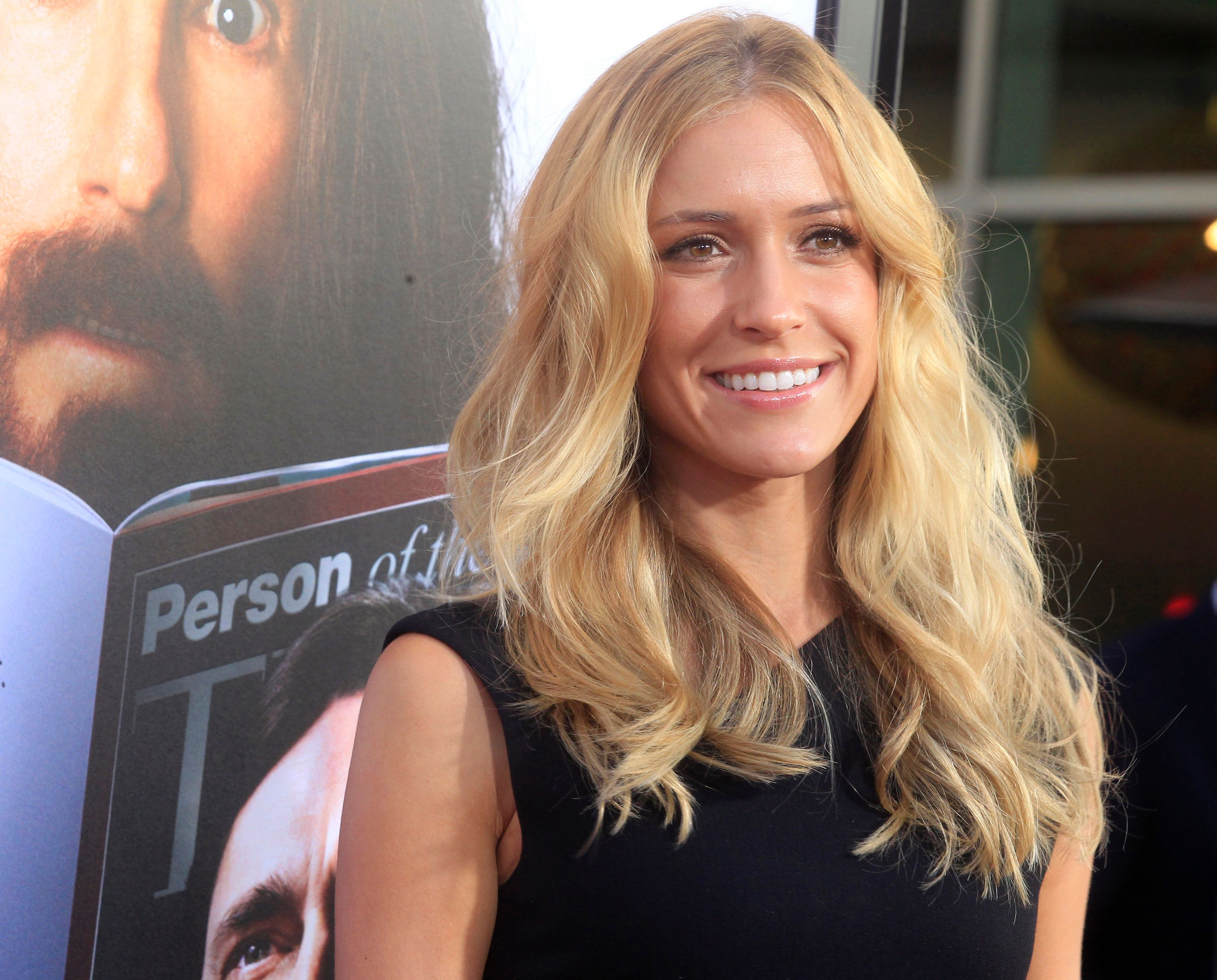 "Actress Kristin Cavallari arrives as a guest for the HBO Films presentation ""Clear History"" premiere in Hollywood July 31, 2013.  REUTERS/Fred Prouser (UNITED STATES - Tags: ENTERTAINMENT)"
