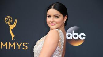 "Actress Ariel Winter from the ABC series ""Modern Family"" arrives at the 68th Primetime Emmy Awards in Los Angeles, California U.S., September 18, 2016.  REUTERS/Lucy Nicholson"