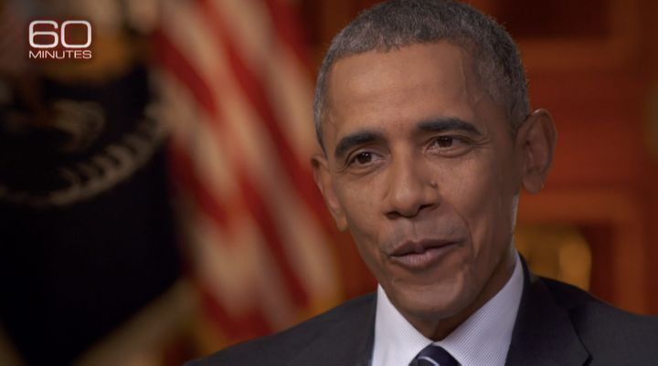 "In his final network television interview on CBS' ""60 Minutes"" that aired Sunday, Obama was candid about his own shortc"