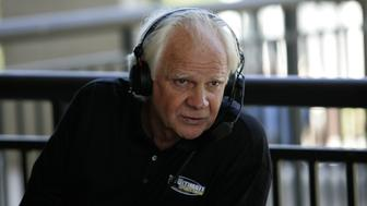 UNITED STATES - MAY 18:  Ken Stabler during a radio braodcast during the first round of the Regions Charity Classic at the Robert Trent Jones Golf Trail at Ross Bridge in Hoover, Alabama on May 18, 2007.  (Photo by Michael Cohen/Getty Images)