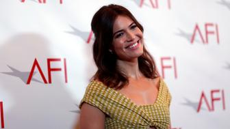 Actor Mandy Moore poses at the American Film Institute Awards in Los Angeles, California U.S., January 6, 2017.  REUTERS/Mario Anzuoni