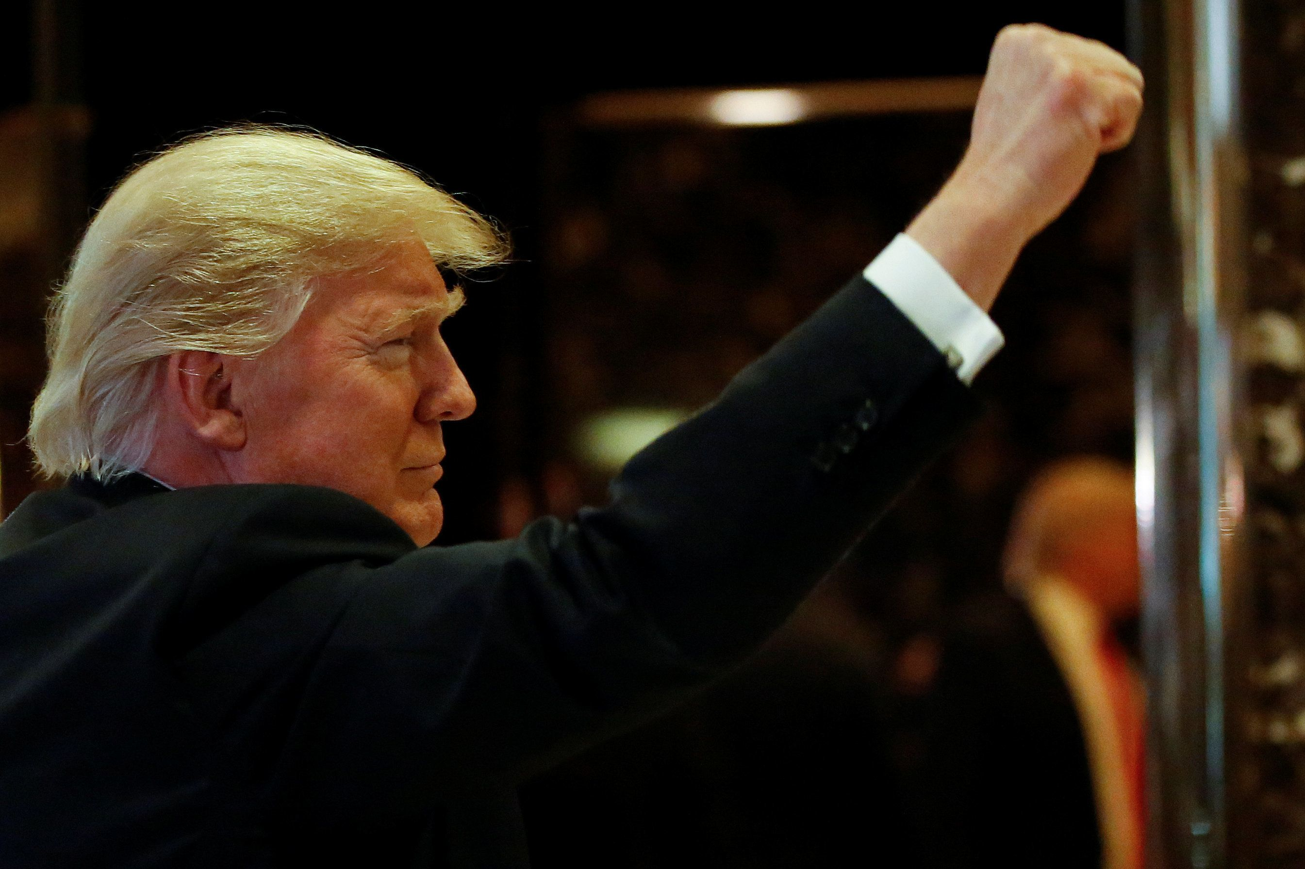 Donald Trump Says Refugee Crisis And Threats To UK Identity Drove