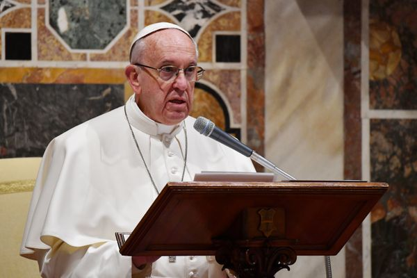 """Francis has denounced the """"<a href=""""http://www.news.va/en/news/pope-on-lampedusa-the-globalization-of-indifferenc"""">globalizat"""