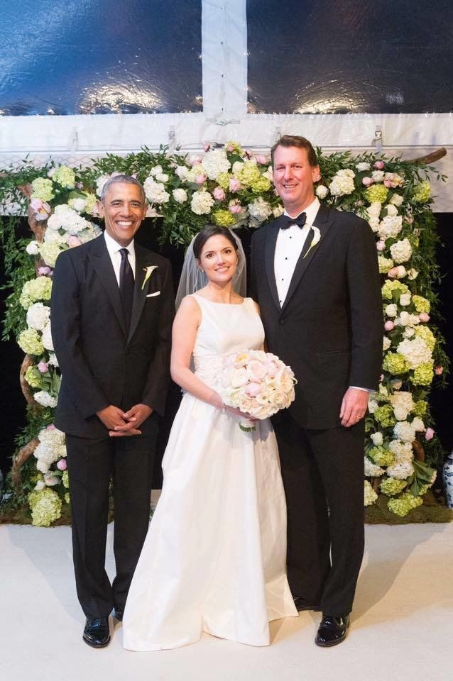 President Was One Der Groomsman At His Aide S Wedding