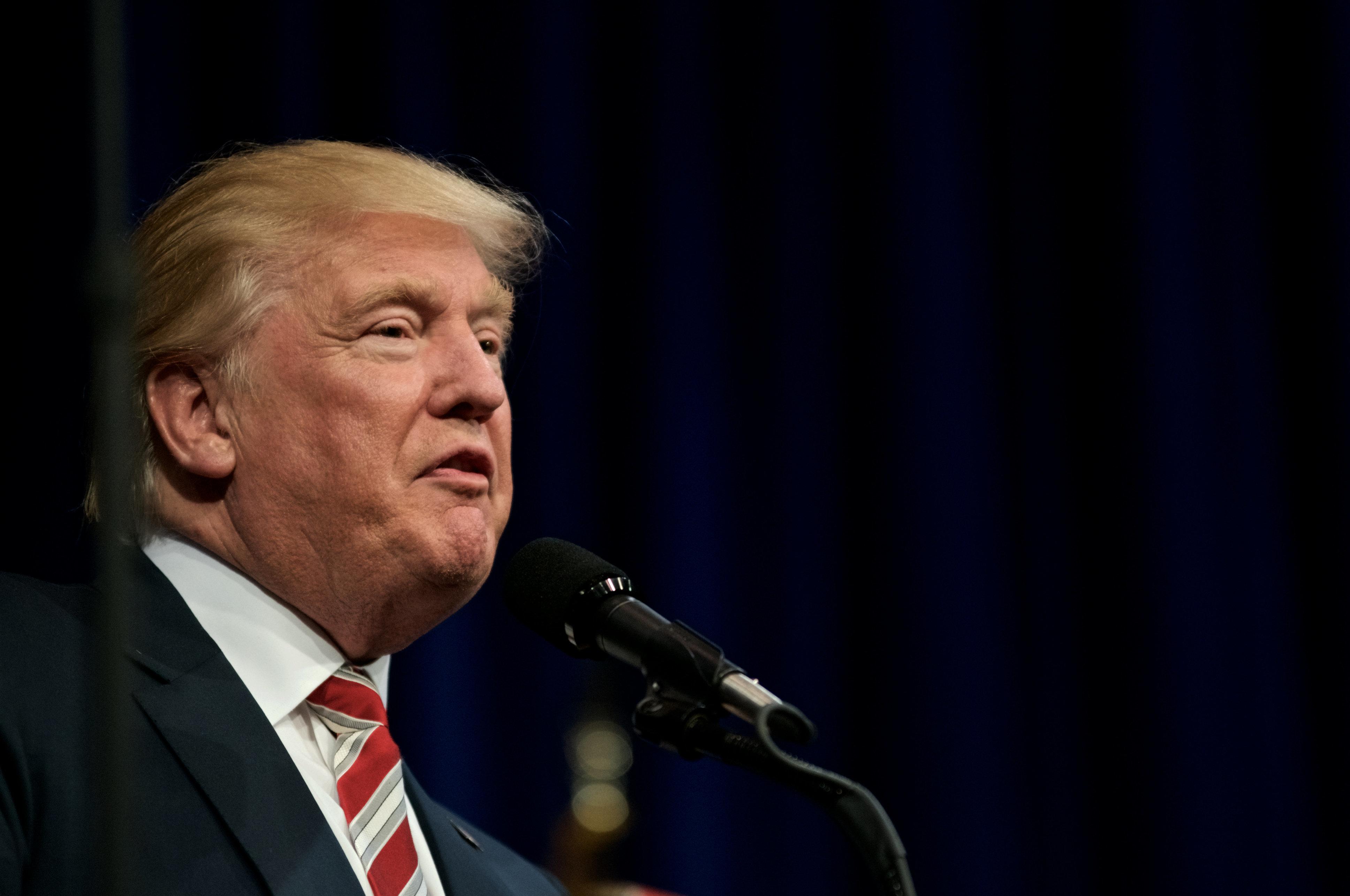 Donald Trump's @RealDonaldTrump isn't going