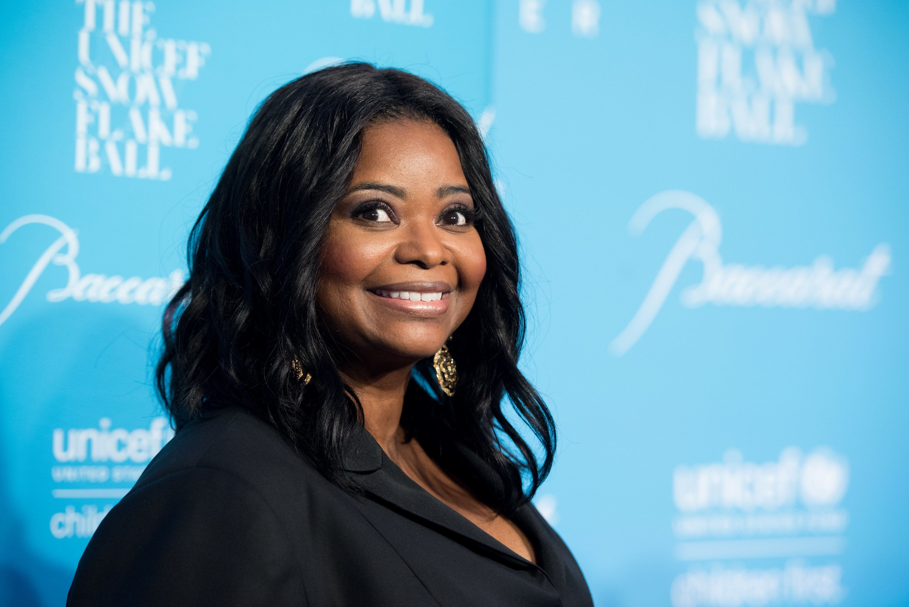 NEW YORK, NY - NOVEMBER 29:  Actress Octavia Spencer attends the 12th Annual UNICEF Snowflake Ball at Cipriani Wall Street on November 29, 2016 in New York City.  (Photo by Noam Galai/WireImage)