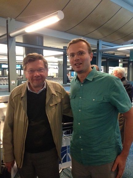 Eckhart Tolle and Frank Ra