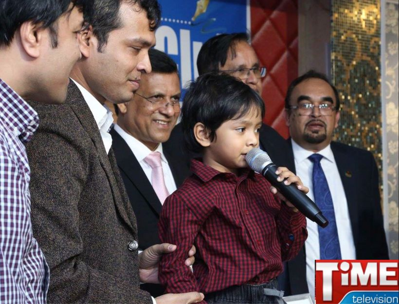 "After his successful problem-solving, the 4 year old was invited to give his speech, <a rel=""nofollow"" href=""https://www.yout"