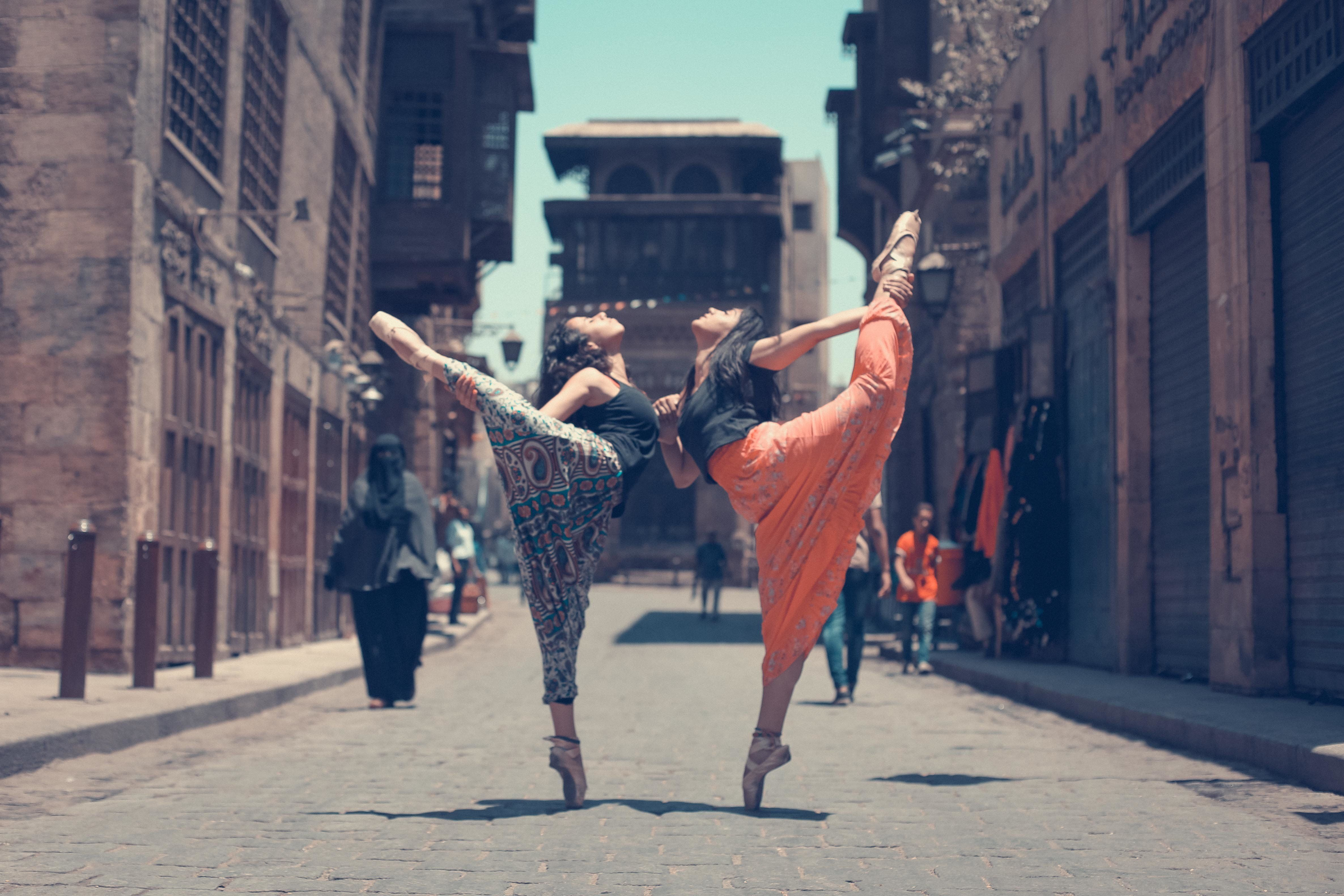 Women Reclaim The Streets Of Cairo Through Stunning Ballet
