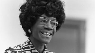 Portrait of Shirley Anita St. Hill Chisholm. (Photo by © CORBIS/Corbis via Getty Images)