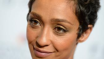 WASHINGTON, DC - OCTOBER 24: Actress Ruth Negga speaks to the press at the Premiere of the  film 'Loving' at Smithsonian National Museum Of African American History on October 24, 2016 in Washington, DC.  (Photo by Riccardo S. Savi/Getty Images) at Smithsonian National Museum Of African American History on October 24, 2016 in Washington, DC.  (Photo by Riccardo S. Savi/Getty Images)