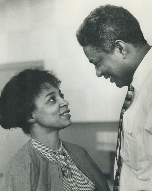 Ossie Davis and Ruby Dee were movie icons and black Hollywood royalty.