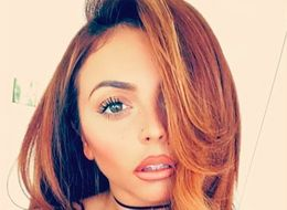 Jesy Nelson Debuts New Red Hair