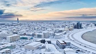 Reykjavik in January 2012