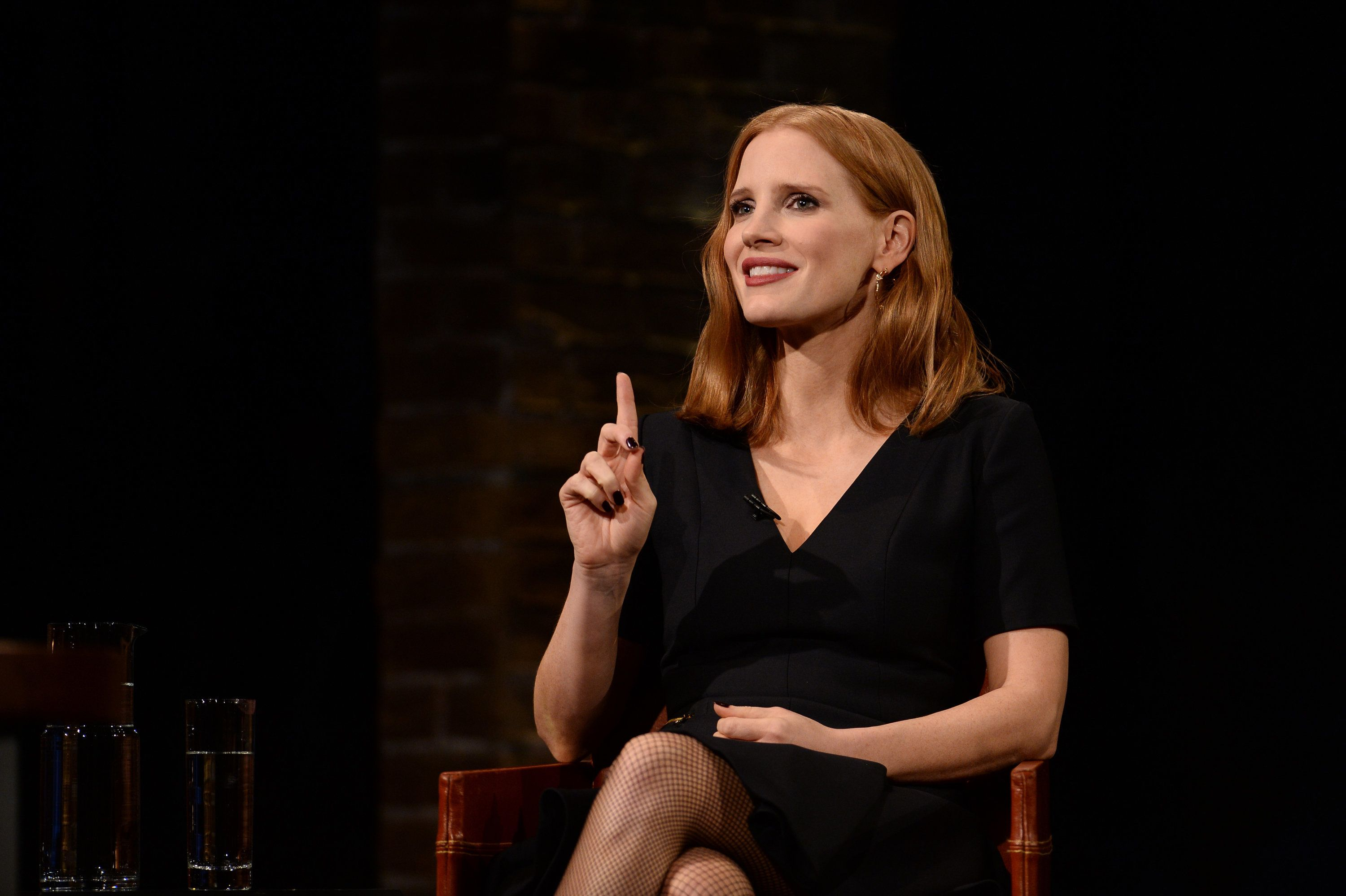 INSIDE THE ACTORS STUDIO -- 'Jessica Chastain' -- Pictured: Jessica Chastain -- (Photo by: Anthony Behar/Bravo/NBCU Photo Bank via Getty Images)